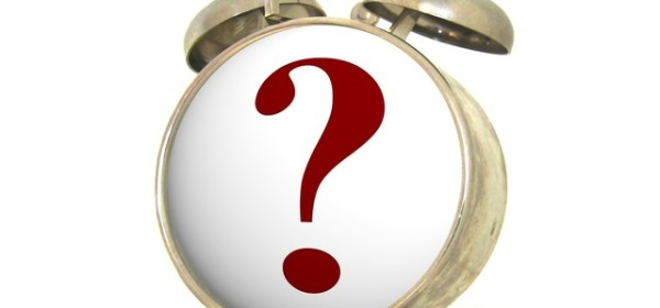 Clock with question mark on face CC0 from PICRYL